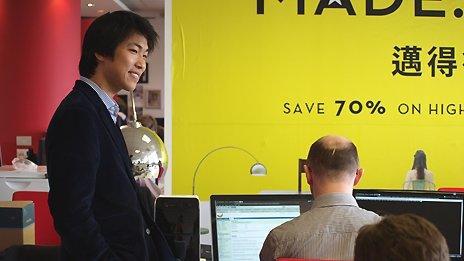 Made.com CEO Ning Li