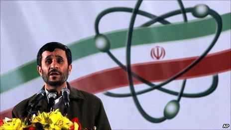 President Mahmoud Ahmadinejad, file image