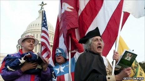 Tea Party activists