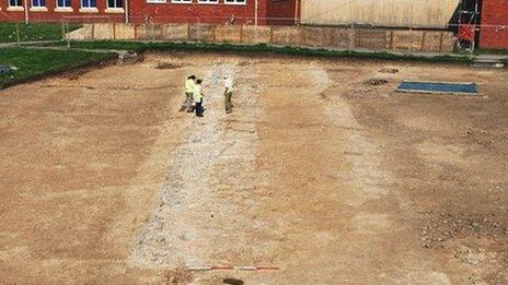 The site near Dwr-y-Felin Comprehensive School, Neath