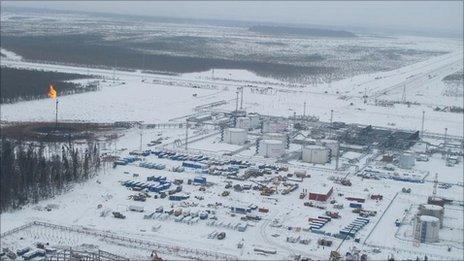 TNK-BP's Uvat oil field