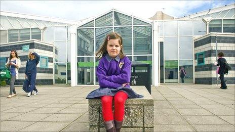 Katie McLintock at Gracemount Leisure Centre