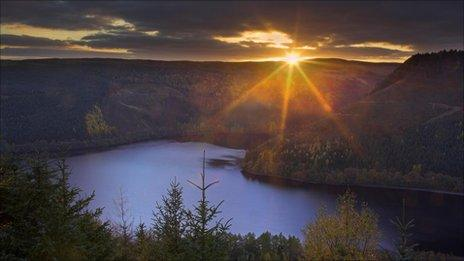 Lake Vyrnwy, Powys (picture courtesy of RSPB)