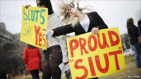 SlutWalk protest in Toronto