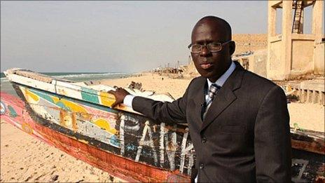 Earth Reporter for programme one is Cheikh Mamadou Abiboulaye Dieye, the Mayor of St Louis, Senegal