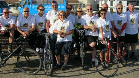 Cycle Ireland team