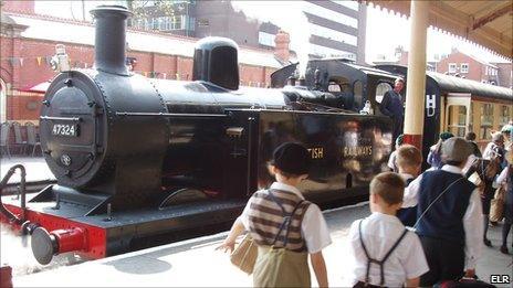 East Lancashire Railway 1940s weekend