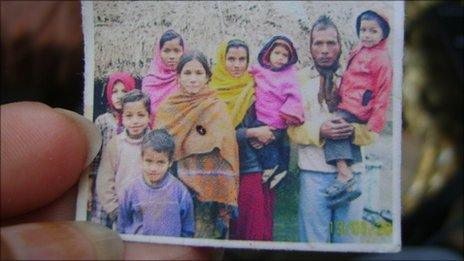 Sonam (in the front with orange shawl)