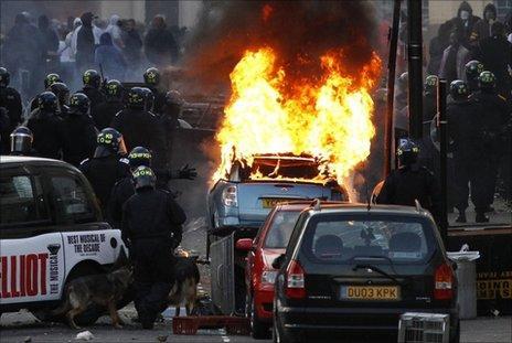 Hackney riots, 8 August