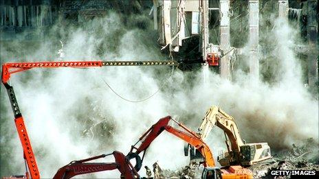 Ground Zero clean up