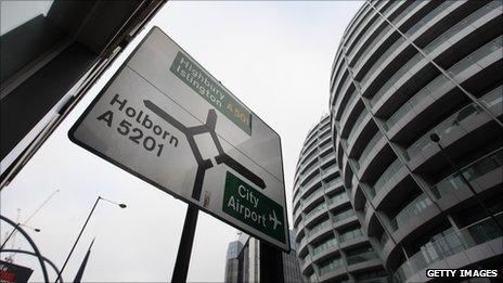 """""""Silicon roundabout"""" in east London"""