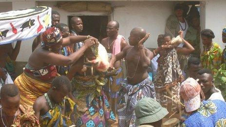 voodoo ceremony (file photo)