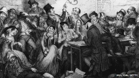 The Drunkard's Children by George Cruikshank, 1848