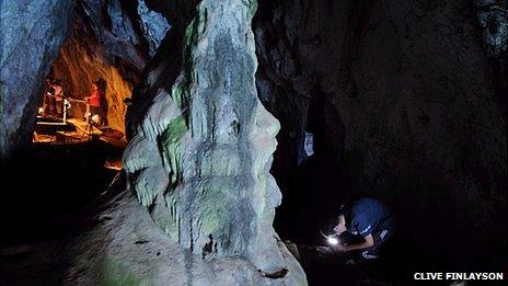 Gorham's Cave 2011