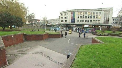 The Bearpit in Bristol city centre