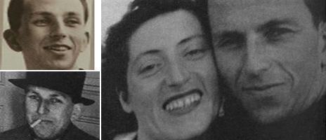 Raymond Aubrac with wife Lucie Bernard