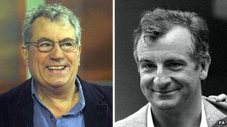 Terry Jones and Douglas Adams