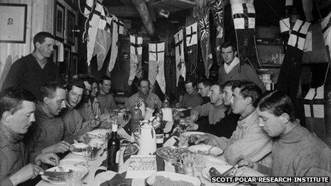 Captain Scott's birthday dinner, June 1911