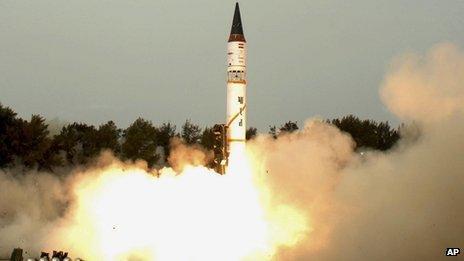 Agni-III launch