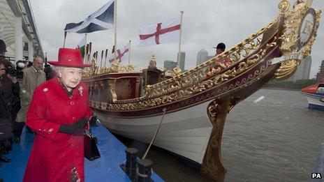 The Queen with Gloriana