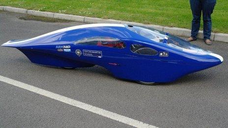 Peggie - the eco-car