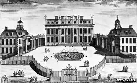 Buckingham House illustration