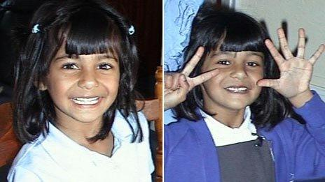 Suman Bansal on 16 May 2002 (left) and 16 May 2003 (right)