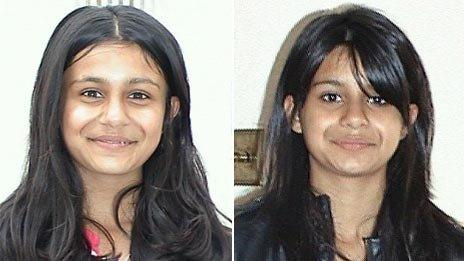 Suman Bansal on 16 May 2008 (left) and 16 May 2009 (right)