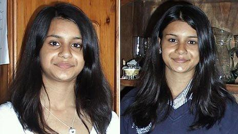 Suman Bansal on 16 May 2010 (left) and 16 May 2011 (right)