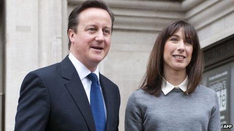 David and Samantha Cameron