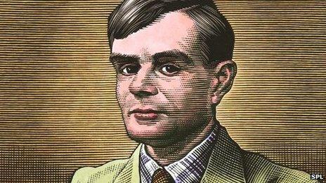 Alan Turing picture