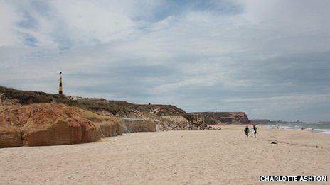 Peniche coastline