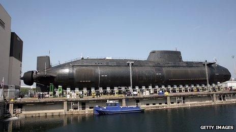 BAE Systems Submarine Solutions shipyard in Barrow-in-Furness