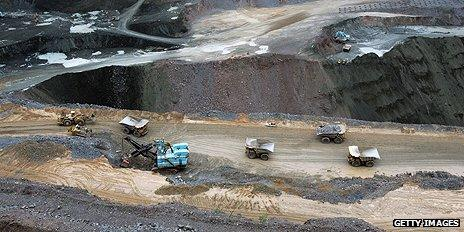 Diamond mine, Botswana