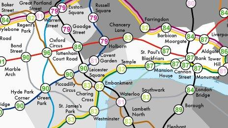 Poverty Tube map