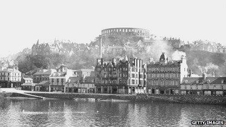 McCaig's Tower, above Oban, 1923