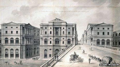 Robert Adam drawing of South Bridge