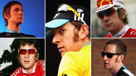 The many Mod haircuts of Bradley Wiggins