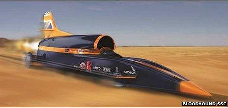 Bloodhound car
