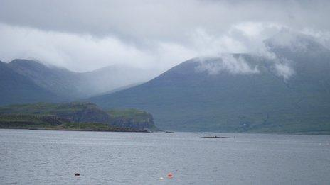 View from Ulva