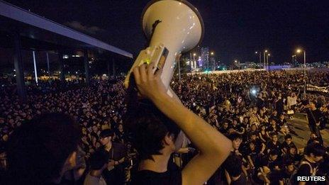 Protests in Hong Kong (7 September)