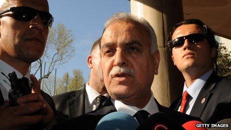 Tariq al-Hashemi in Istanbul (May 2012)