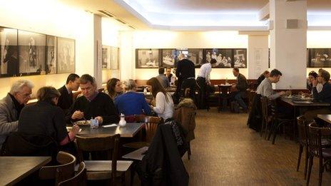 Berliner Ensemble canteen