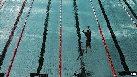 Swimming pool, Algeria