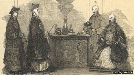 Mandarins c.1400