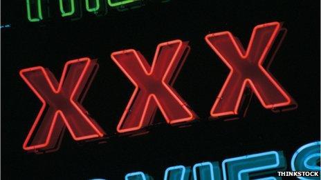 XXX in neon