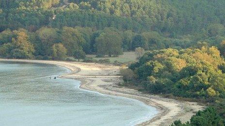 Beach at Zepko, Halkidiki