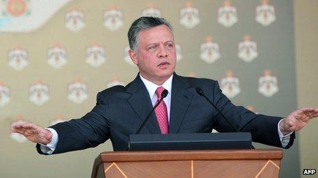 King Abdullah (23 October 2012)