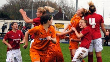 Forest Ladies in action