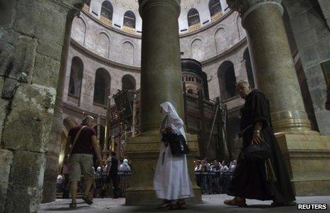 Church of the Holy Sepulchre (2 November 2012)